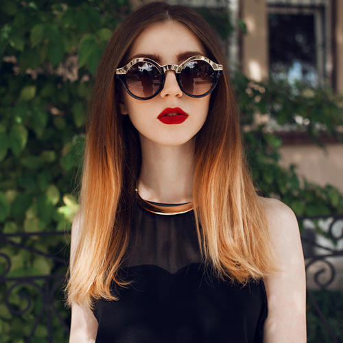 ombre hair color dk salon